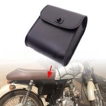 Черная мотоциклетная сумка для мотоцикла Harley, Модифицированная Боковая Сумка для езды, седельная сумка для езды