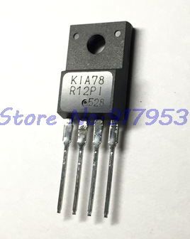 5pcs/lot KA78R12 78R12 TO-220F-4 12V 1A In Stock