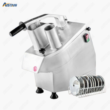 HLC300 Kitchen vegetable cutter Machine multifunctional Fruit Vegetable Slicer Cutter Commercial french fry S.steel