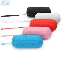 Pill Capsule форма беспроводной Bluetooth динамик новый портативный стерео музыка карты сабвуфер