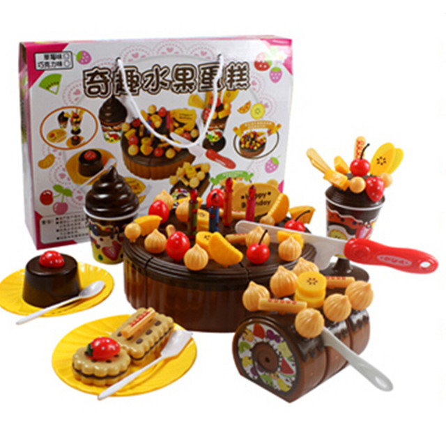 free shipping kitchen set toy miniature food cake pretend toy for childrens christmas gift2 - Children Christmas Pictures 2