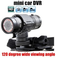 Factory Price Sale Directly Camera DVR Mini F9 Sport Camera Car DVR 1080P Camera Bike Mount