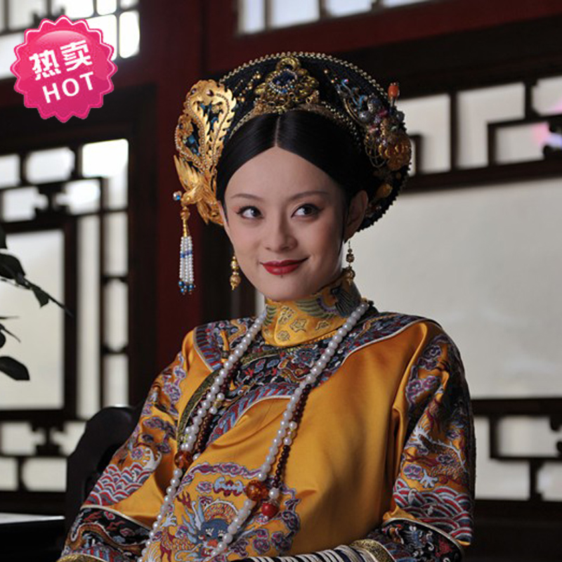 TV Play Legend Of Empress Zhenhuan Nwfp Oriental Costume Princess Installed Luxury Queen Gorgeous Embroidery Costume Qing
