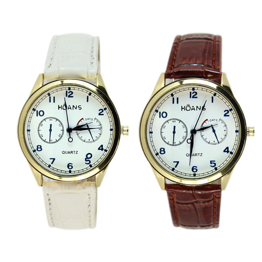 mance unisex mens watches top brand luxury leather