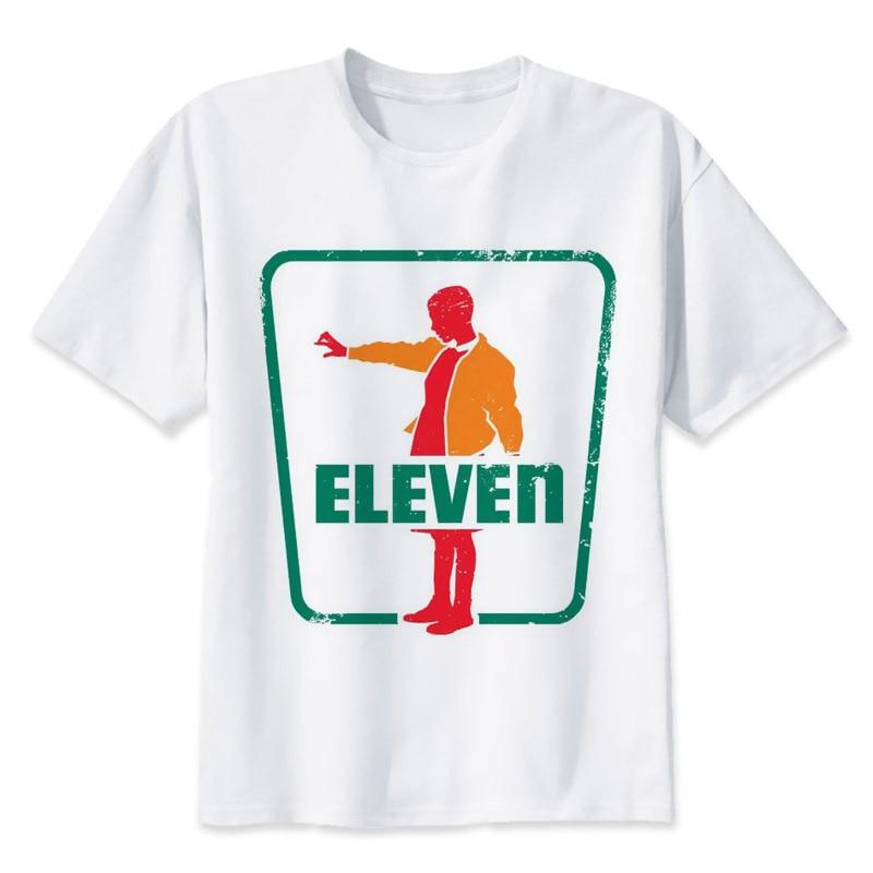 stranger things 2 T Shirts men Fashion O Neck Top Tee Shirt Men Hip Hop Streetwear