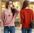 2015 Cardigan Free Regular Computer Knitted O-neck Full Shipping Hot Sale Autumn New Brand Knitted Sweater Style Pullover Women