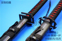 Bleach Kurosaki Ichigo katana Anime Cosplay wooden Sword knife blade weapon Cosplay Props shipping free