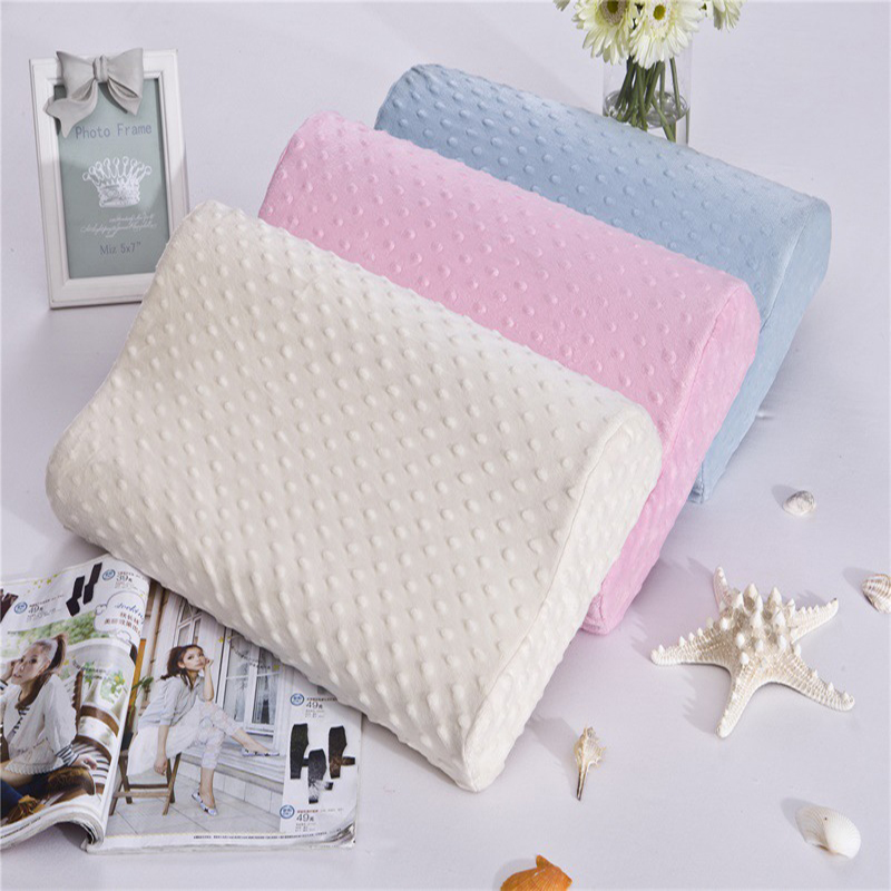 3 kleuren Foam Memory Pillow Orthopedic Pillow Travel Slaap Latex Nekkussen Rebound Zwangerschap Pillow Protect Gezondheidszorg