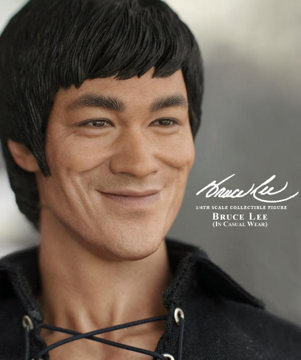 1//6 Hot Toys MIS12 Bruce Lee In Casual Wear 12 inch Action Figure IN STOCK