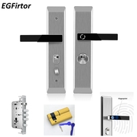 Stainless Steel Fingerprint Head Semiconductor Fingerprint Lock Smart Door Lock Automatic Security Door Electronic Lock