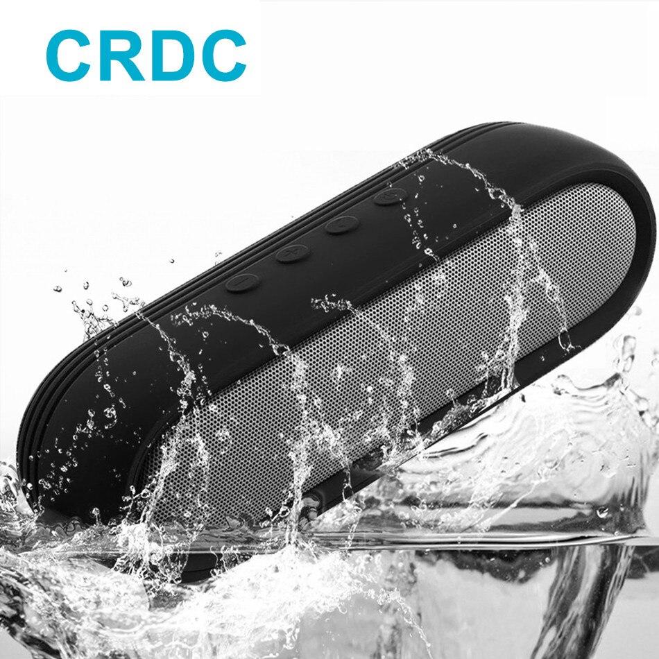 CRDC Design Hände Freies Drahtlose Tragbare Bluetooth Lautsprecher mit CSR Chip Beste Lautsprecher für Xiaomi iPhone Bad Außen Büro