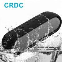 CRDC Tasarım Eller Ücretsiz Kablosuz Taşınabilir Bluetooth Hoparlör KSS Çip ile Xiaomi iPhone Banyo Açık Ofis için En Iyi Hoparlör