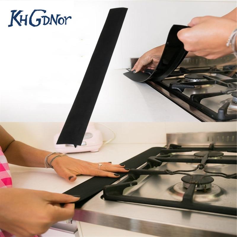 Aliexpress Com Buy Khgdnor Silicone Stove Counter Gap