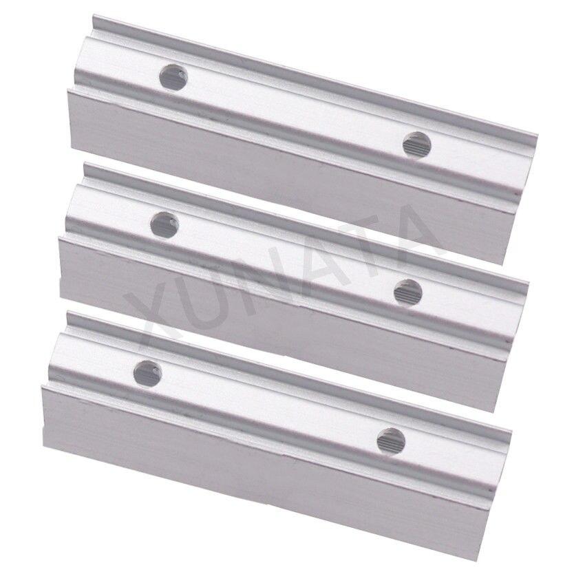 10mm 12mm Width Led Neon Rope Holder Clip Aluminum Profile For 220V  2835 5050 Flexible Led Neon Rope Soft Bar Light White 5pcs