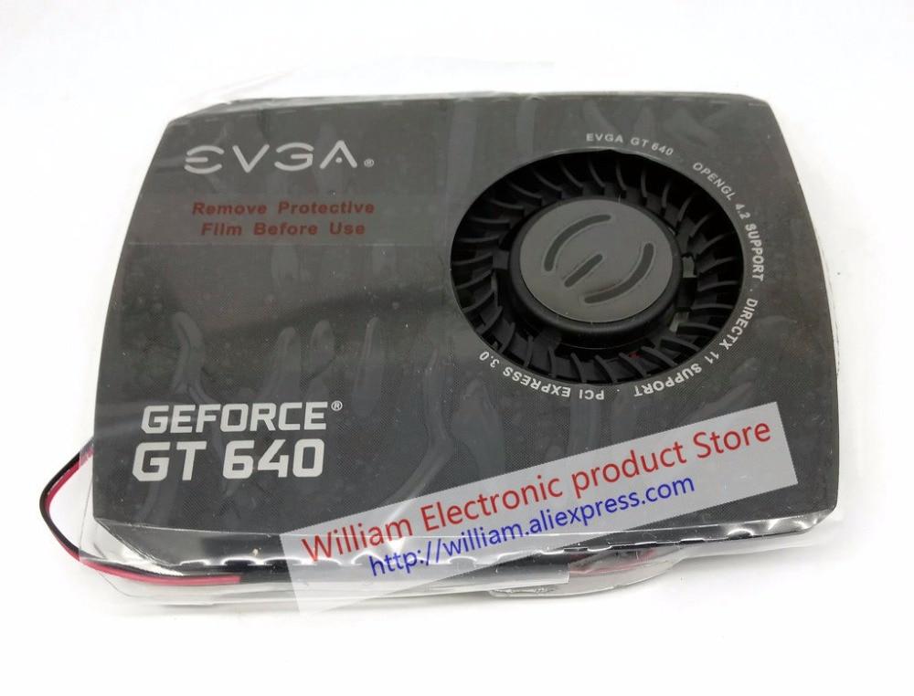 New Original For EVGA GeForce GT640 Graphics Card Cooler Pitch 42x42MM