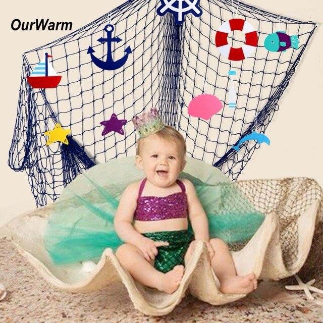 OurWarm Baby Shower Birthday Party Backdrop Decorative