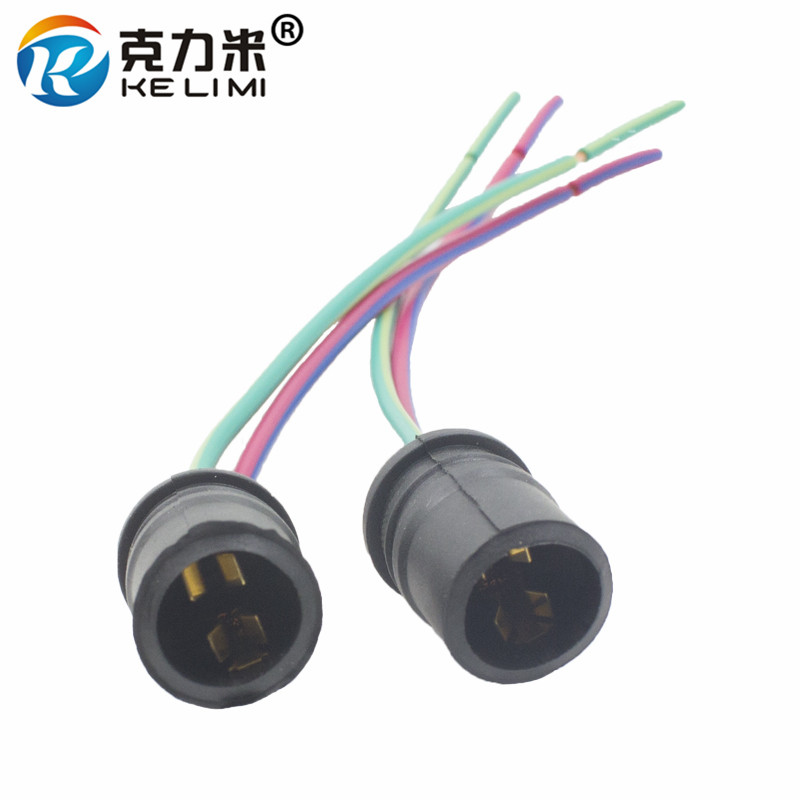 Car Lights Car Light Accessories Supply Kelimi Car Motorcycle T10 168 W5w 194 Small Led Light Bulb Soft Rubber Connector Base Plug-in Extension T10 Adapters Sockets Ideal Gift For All Occasions