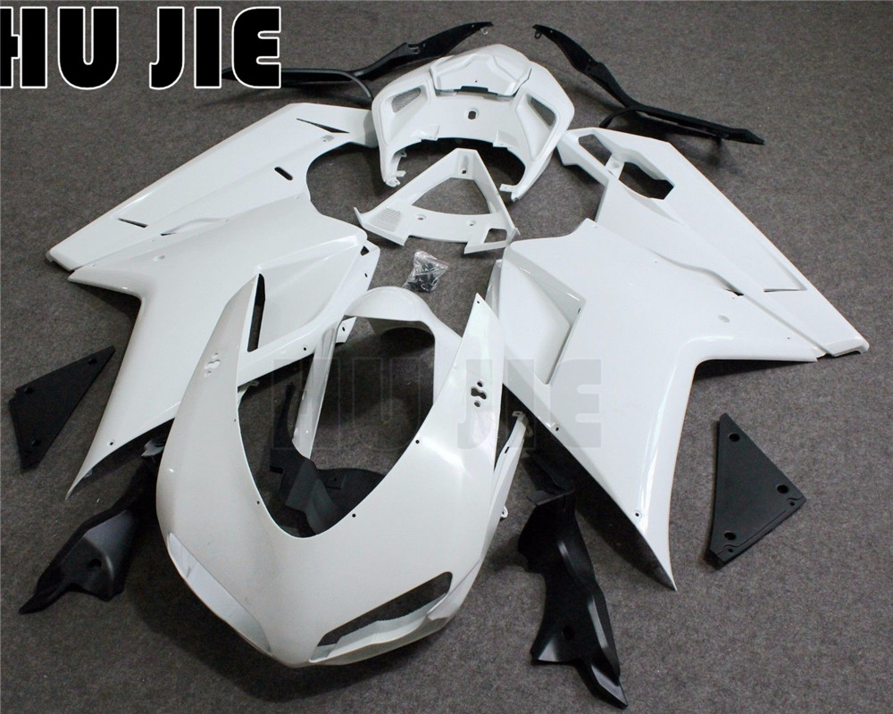 ABS Injection Molding Unpainted Fairing Kit For DUCATI 1098 1198 848 2007 2011 08 09 10 Motorcycle Bodywork Fairings