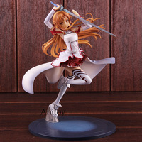 SAO Sword Art Online Asuna Figure Knights of the Blood Ver. 1/8 Scale Painted Figure Action PVC Collectible Model Toy