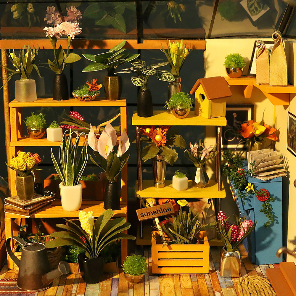 Doll-House-Miniature-DIY-Dollhouse-With-Furnitures-Wooden-House-Toys-For-Children-Kathys-Flower-House-Robotime-DG104-1