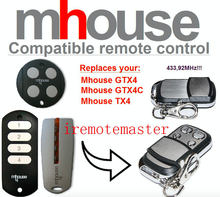 MHouse GTX4, GTX4C,TX4 universal replacement remote control free shipping