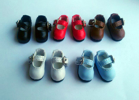 Doll flat shoes candy colors - MMK AZ JerryBerry Pukifee