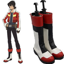 Anime Cartoon Comic Voltron:Legendary Defender Boots Keith Akira Kogane Cosplay Costumes Custom Made Comic-Con Halloween Boots(China)