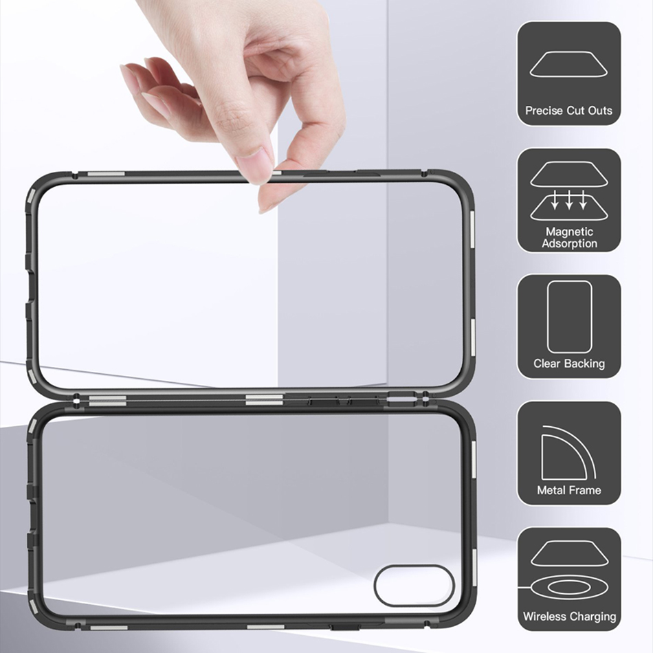 Luxury Magnetic Absorption Metal Case
