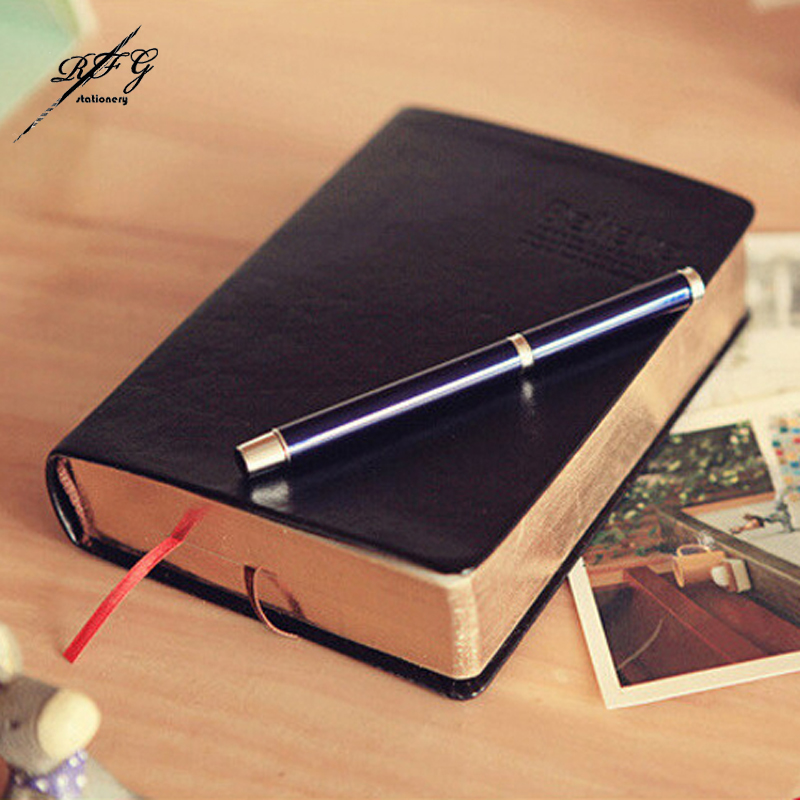 Agenda 2016 Retro Notebook Faux leather Personal Diary Sketcs