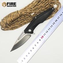 BMT MDF-2 Folding Knife D2 Blade G10 handle Camping Pocket Outdoor Survival Knives Hunt EDC Tools OEM