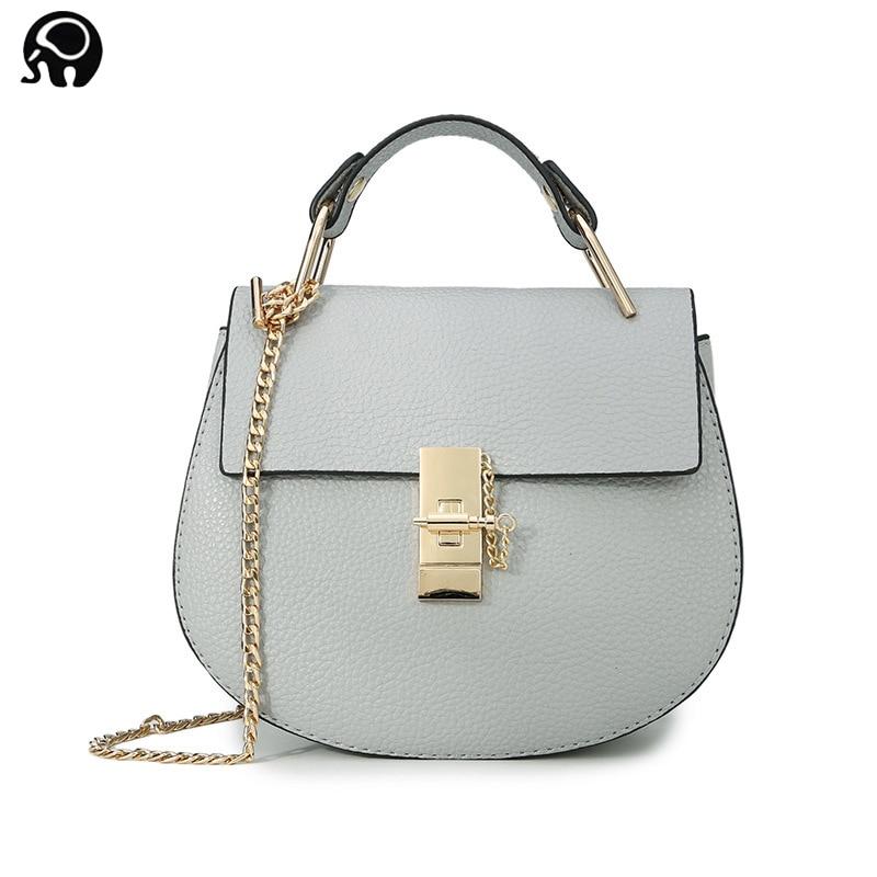 2018 Two sizes Hot Sale Famous Brand Design Women Handbag High Quality Cloe Bag Small Chain Shoulder Bag Piglet handtas