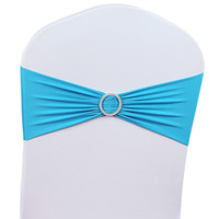 50pcs/lot 8 Colors Stretch Wedding Chair Cover For Weeding Party Decoration Chair Cocering Free Shipping