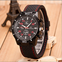 Men Business Watch Luxury Brand Outdoor Sports Men watches Silicone Strap Military Quartz Wrist Watches Clock Relogio Masculino все цены