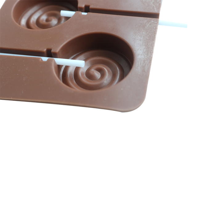 Eco-Friendly Silicone Lollipop Mold