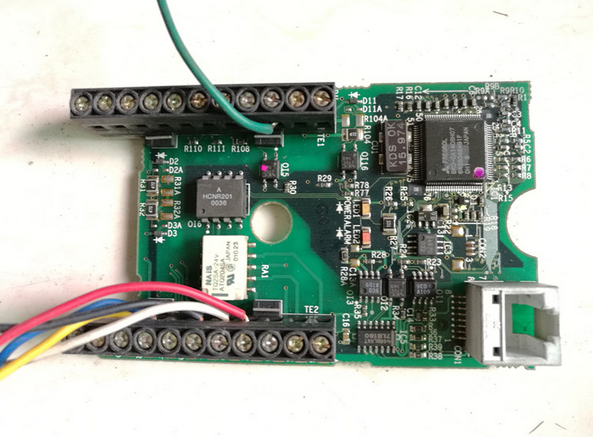 Inverter drive board CPU board  FR-E520  original and new inverter drive board sb40s xw g132kwqd2q original and new