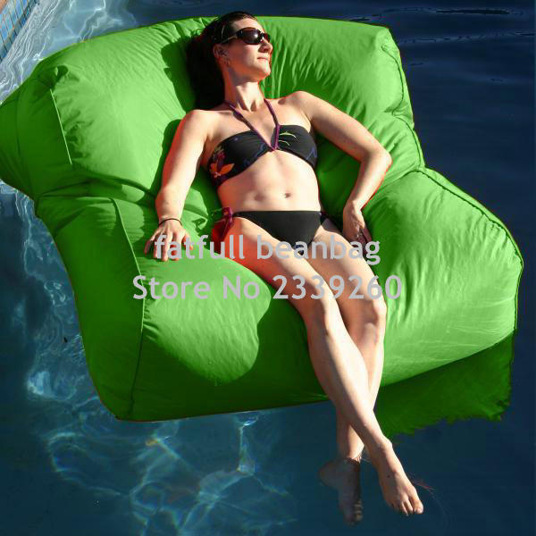 cover only no filler green water float bean bag furnituredouble seat big boy big boys furniture