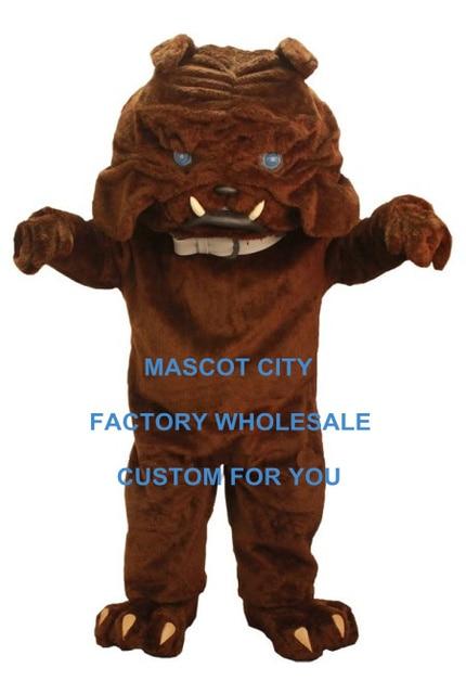 Blue Eye Brown Bulldog Mascot Costume Customized Bulldog Mascota Outfit Suit Fancy Dress Party Cosply Costume  sc 1 st  AliExpress.com & Blue Eye Brown Bulldog Mascot Costume Customized Bulldog Mascota ...