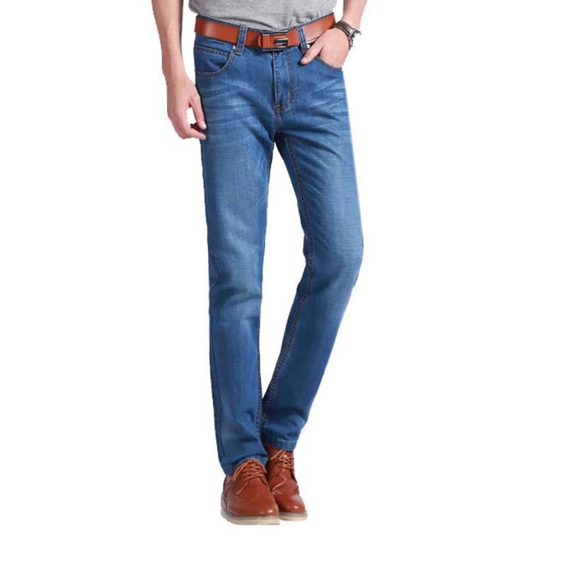 2017 Для Мужчинs authentics классический расслабленным нужным Жан Супер удобные узкие мото хип-хоп прочный джинсовые штаны Мужская обувь с Джинсы ... ...