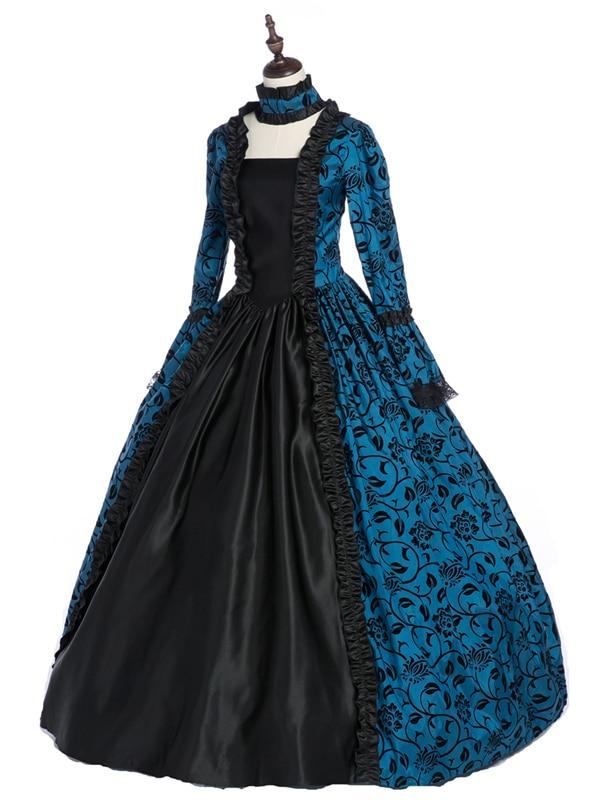 Gothic Victorian Dress for  Women