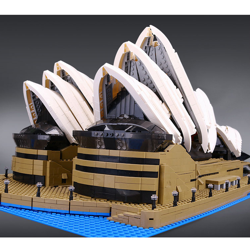 Lepin 17003 Sydney Opera House building bricks blocks Gift Toys for children boys Game Compatible with Bela Decool 10234 dayan gem vi cube speed puzzle magic cubes educational game toys gift for children kids grownups