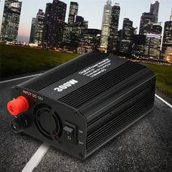 Инвертор 12 В 220 В 600 Вт пик 300 Вт Авто Модифицированная синусоида Напряжение трансформатор Мощность преобразователь автомобиля заряжать 2 USB