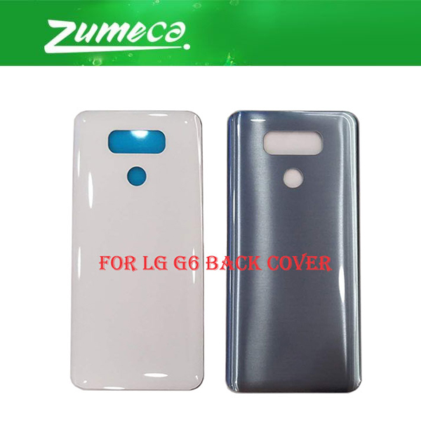 AAA+Quality For <font><b>LG</b></font> <font><b>G6</b></font> H870 H871 H872 <font><b>H873</b></font> LS993 Battery Cover Housing Case Door Rear Glass Gold Silver Black White Color image