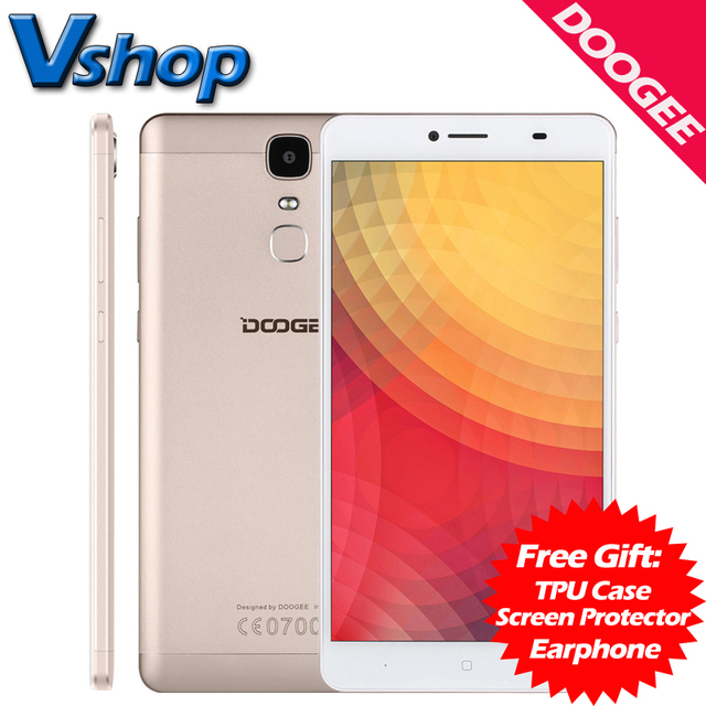 Original Doogee Y6 Max 4G Mobile Phone Android 6.0 3GB RAM 32GB ROM MTK6750T Octa core 1080P 13MP Camera Dual Sim Cell Phone