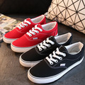 High Quality Retail New Sale Women's Canvas Shoes Lace up casual shoes Flats Solid Women Breathable shoes Drop Shipping