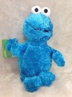 40 cm bonito Sesame Street brinquedos de pelúcia Elmo Big Vird Cokkie Monster Stuffed Toy Dolls crianças presentes de aniversário presentes do partido