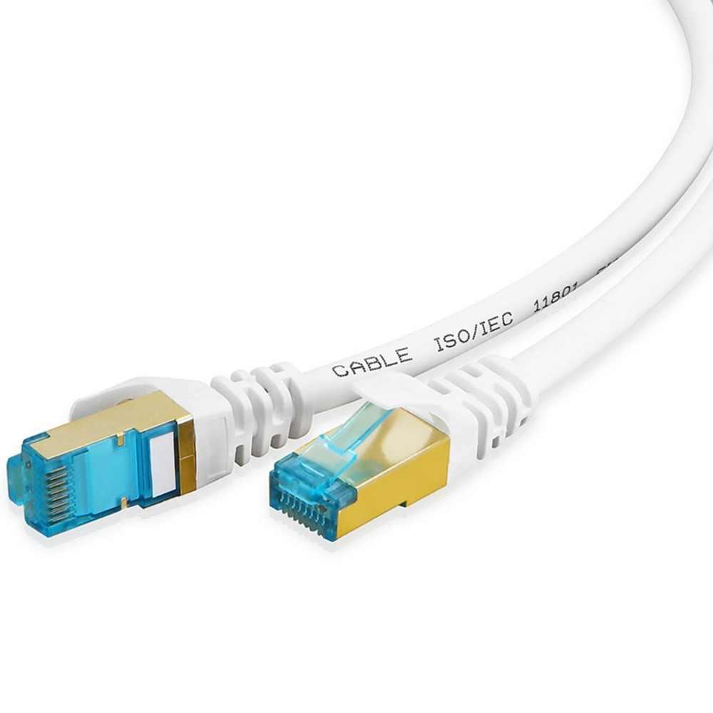 Cable de Ethernet Cat 6 RJ45 conector 0,5 m 1m 2m 3m 5m 10m 15m de la red de Internet Lan Gigabit Cat6 Cable para PC Modem Router de interruptor
