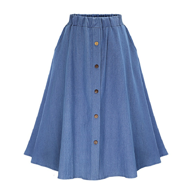 denim skirt high waist skirts new
