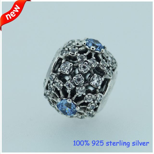 Serve para pandora pulseiras de contas de prata a céu aberto com cz new original 100% 925 sterling silver charm jóias diy atacado 08178