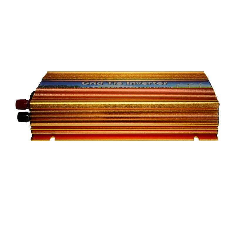 цена на MAYLAR@ 10.5-30VDC 1000W Solar Power on Grid Tie Inverter Output 90-140V 50hz/60hz Pure Sine Wave Converter Fit For Panel Cells