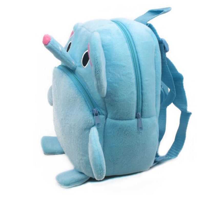 New-Arrival-Cute-Baby-Elephant-Cartoon-Plush-Children-Backpacks-Kids-School-Bags-Christmas-Gifts-1